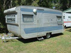 vintage caravan millard 15ft