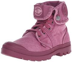 Palladium Women's Pallabrouse Baggy Combat Boot, Roman Rouge, 8.5 M US - http://buyonlinemakeup.com/palladium/8-5-b-m-us-palladium-womens-pallabrouse-baggy-boot-8-11