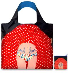 Flashing Girl: stunning, eco friendly, washable totes from the endlessly stylish Loqi now available at The Constant Knitter Yarn Shop, Cool Stuff, Stuff To Buy, Tote Bag, Stylish, People, Bags, Collection, Store