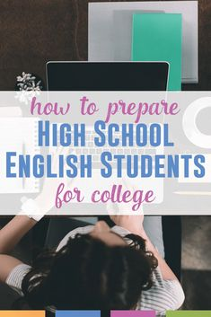 High School English teachers wonder how to prepare high school English students for college. Read these ideas from a college professor who has taught high school too. High School Classroom, English Classroom, High School Students, English Teachers, Classroom Ideas, High School Teachers, High School Reading, Teachers College, Education College