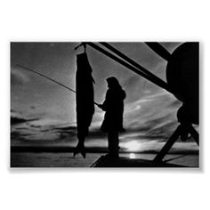 #Buy #purchase #digital #photography #photograph #photo #picture #image #print #1970s #1970 #download #file #antique #old #vintage #archive #historic #historical #hight #resolution #bw #black #white #stock #collection #licence #royalty #free #RF  America USA Alaska float plane fishing $9.95