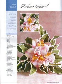Todo Flores de Porcelana Fria: Alstroemerias
