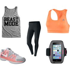 "Workout Clothes - ""Beast Mode"" by Sarah Duncan"