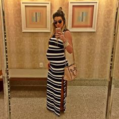 Aline Gotschalg @alinegoficial Maternity-style the bump #byludmilacosta #dior #givenchyofficial