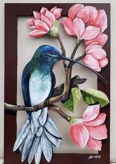 Frames with a nature theme can be tailor-made. Frames with a nature theme can be tailor-made.-- Begin Yuzo --><!-- without result -->Related Post Nail Art has come to be the newest fashion trend. Hummingbird Painting, Color Pencil Art, Bird Drawings, Mural Art, Fabric Painting, Bird Art, Clay Art, Flower Art, Watercolor Paintings
