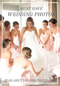 MUST HAVE WEDDING PHOTOS | ShutterChic Photography | Colorado Wedding Ideas