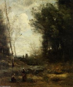Corot - The Valley