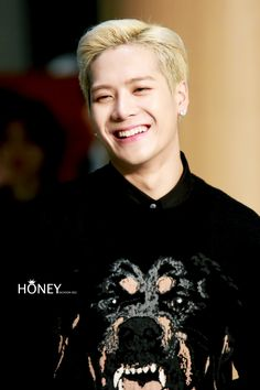 Jackson....I love that smile!