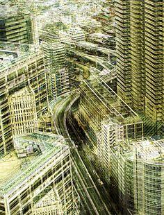 Japan I by Stephanie Jung, via Behance