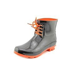 Electric Karma Womens Rain Check Boot  Black *** Be sure to check out this awesome product.(This is an Amazon affiliate link and I receive a commission for the sales)