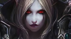 This HD wallpaper is about female anime character with blonde hair, World of Warcraft, Sylvanas Windrunner, Original wallpaper dimensions is file size is Dark Fantasy Art, Fantasy Girl, Fantasy Women, Fantasy Artwork, Anime Fantasy, Lady Sylvanas, World Of Warcraft Wallpaper, Art Warcraft, Sylvanas Windrunner