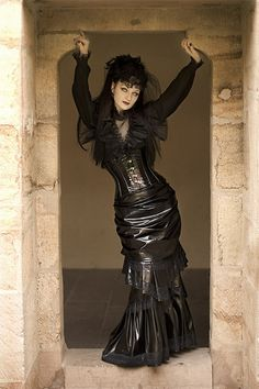 Image detail for -goth-girl-in-vinyl-clothes.jpg