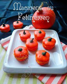 Pumpkin Macarons - so cute!