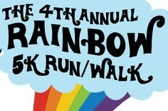 Mark it on your calendar! It's the 4th annual Rainbow Run/Walk for Indy Pride on June 6th!