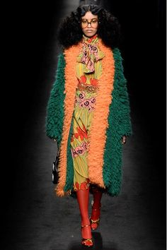 @Gucci Autumn/Winter 2016-17 via #milanfashionweek