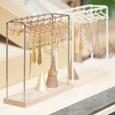Amazing SALE- hanger - iron walnut type - Women's Jewelry and Accessories-Women Fashion Jewellery Storage, Jewellery Display, Jewelry Organization, Diy Jewelry Holder, Jewelry Stand, Necklace Holder, Diy Necklace, Diy Earring Holder, Jewelry Case