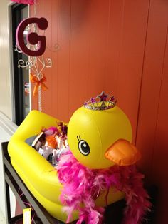 Baby shower duck theme