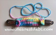 Mitten/Pants Clip - Dearest Debi Patterns