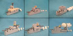 Montefalco Western Fleet  Top row: aircraft carrier, destroyer, patrol boat. Bottom row: battleship, cruiser, airship tender.