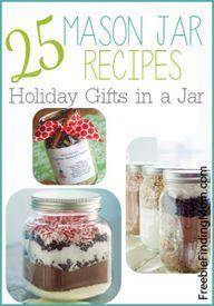 25 Mason jar recipes