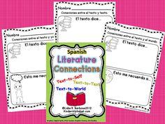 FREEBIE Kinder Latino: Bilingual Teaching Resources: Making Literature Connections