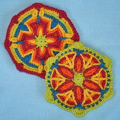 Motifs in Overlay Crochet Pattern PDF by CAROcreated on Etsy