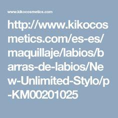 http://www.kikocosmetics.com/es-es/maquillaje/labios/barras-de-labios/New-Unlimited-Stylo/p-KM00201025