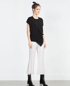 ZARA - NEW IN - DRAPED TOP