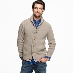 J.Crew has amazing collaborations, this cardigan is from their recent collabo with, Wallace and Barnes.
