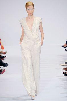Elie Saab Fall 2009 Couture Fashion Show - Elsa Sylvan (OUI)