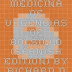 Medicina de urgencias de bolsillo (Spanish Edition) by Richard D. Zane MD FAAEM , Joshua M. Kosowsky MD Ebook(PDF) EPUB Free Download ~ Download Paid E-Books For Free