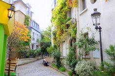 Paris : Square des Peupliers, le temps retrouvé - XIIIème http://www.parisladouce.com/2015/11/paris-square-des-peupliers-le-temps.html