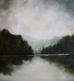 Painting-Andrea Costa: Still Waters