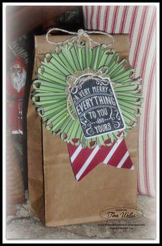 Christmas Biscotti Gift