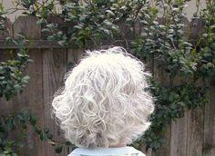 grey+hair+dos | ... hair styles medium hair styles readers female curly hair gray hair