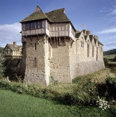 The watchtower at Woodhall is similar to the one at Stokesay in Shropshire.