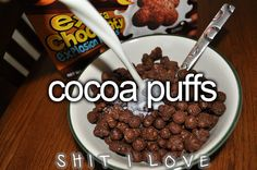 Those coocoo for cocoa puffs days.