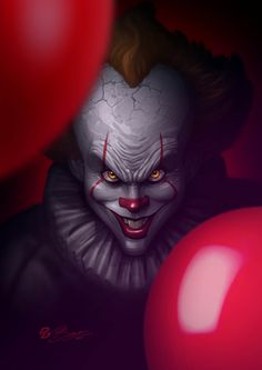 Pennywise | Patrick Brown - Follow Artist on DeviantArt // Patreon // Facebook  More Pennywise Related Artworks