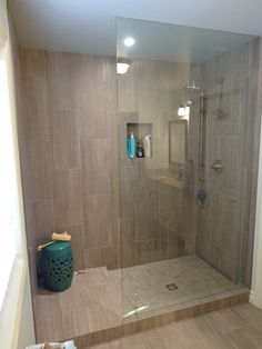 doorless shower.Love