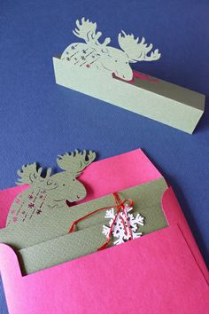 2013 Gift of winter Mousse / Christmas Card