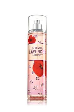MY FAV French Lavender & Honey - Fine Fragrance Mist - Signature Collection - Bath & Body Works - Lavishly splash or lightly spritz your favorite fragrance, either way you'll fall in love at first mist! Our carefully crafted bottle and sophisticated pump delivers great coverage while conditioning aloe mist nourishes skin for the lightest, most refreshing way to fragrance!