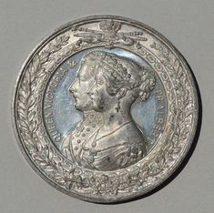 QUEEN VICTORIA / PRINCE ALBERT LONDON EXHIBITION 1851 TIN MEDAL | Coins & Paper Money, Exonumia, Medals | eBay!