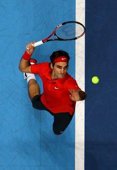 Federer serve. #Federer #Tennis