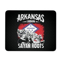 Super Saiyan ARKANSAS Grown Saiyan Roots Mouse Pad - TL00167MP