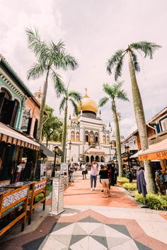 Best Photo Spots in Singapore: Mosque in Kampong Glam Singapore Tourist Spots, Singapore Vacation, Singapore Attractions, Singapore Travel Tips, Holiday In Singapore, Singapore Itinerary, Singapore Photos, Singapore Singapore, Top Travel Destinations