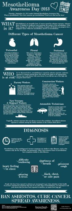 #Mesothelioma Awareness Day #infographic