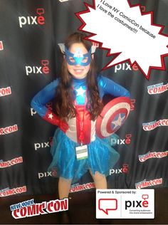 I Love NY ComicCon because I love the costumes!!!! #NYCC #PixeSocial