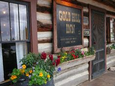 Gold Hill Inn, just above where we used to live in Four Mile Canyon outside Boulder. AKA: The Anniversary Dinner Place - awesome food!