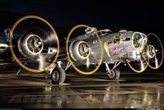 """Commemorative Air Force Boeing B-17G Flying Fortress (299P) """"Sentimental Journey"""""""
