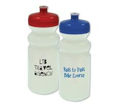 BPA free! Made in the USA! 20 Oz. frosted sport water bottle with push pull, colored lid. Hand wash only.  Complies with Prop 65. Made in USA    http://www.fundraisingshowroom.com/drink_ware_fundraising.htm